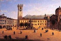 Rappresentazione settecentesca di Piazza del Duomo