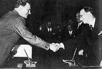 Il 5 settembre 1946 a Parigi viene stipulato l'accordo Degasperi-Gruber